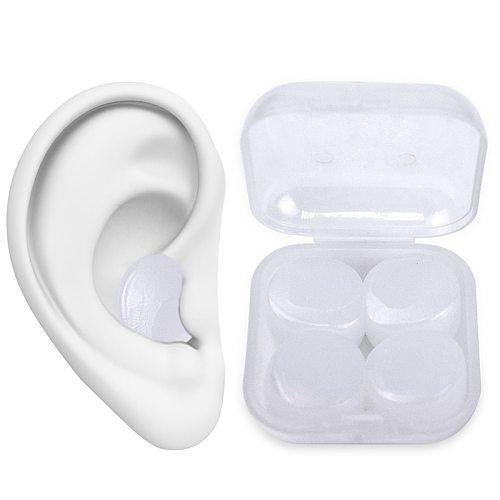 8Pcs Reusable Anti Noise Silicone Earplugs Aid Sleep Soft Earplugs Waterproof Swimming Earplugs Soundproof Ear Plugs Health Care