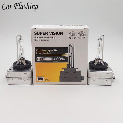 Car Flashing 1Pair D1S D2S D3S D4S HID Bulbs HID xenon headlight D1 D2 D3 D4 D1R D2R D3R D4R headlamp light 4300K 6000K 8000K