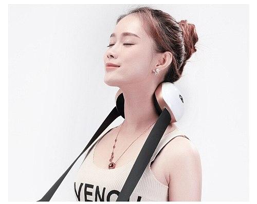 Electric Shiatsu Back Neck Shoulder Body Massager Infrared Heated Kneading Car/Home Massagist