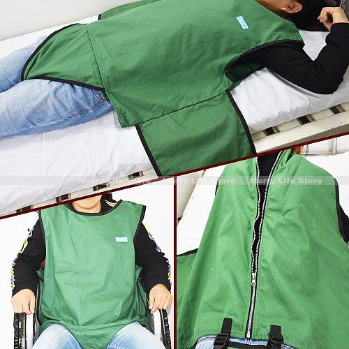 Anti-falling Bed Chair Restraint Vest Elderly Cotton Wheelchair Seat Belt Restraint Clothes Band Clothing for Dementia Patients