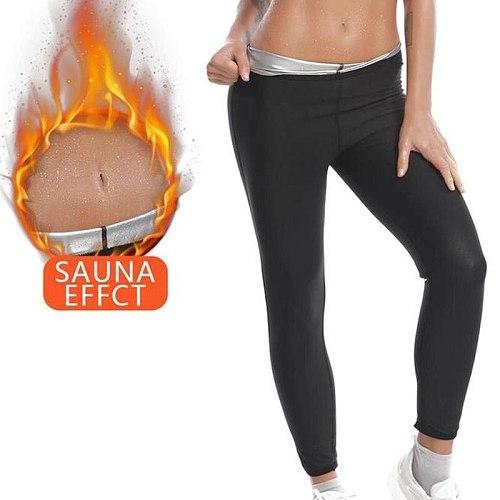 Sports Comfort Moisture Wicking Sweat Suits Body Shaper Slimming Pnats Woman Waist Trainer Slimming Shorts Fitness Leggings Shap