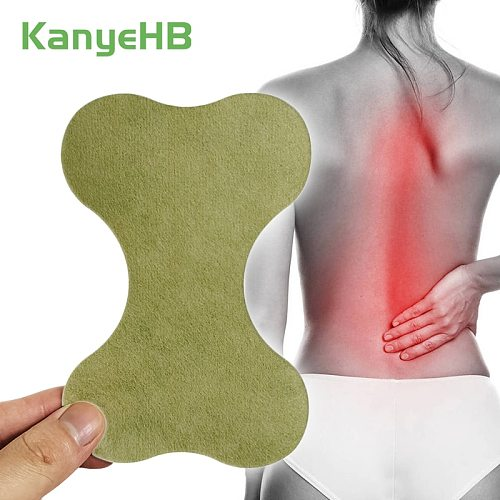 12pcs Self-heating Wormwood Medical Sticker Lumbar Spine Back Pain Relief Patch Rheumatism Arthritis Joint Pain Plaster A413