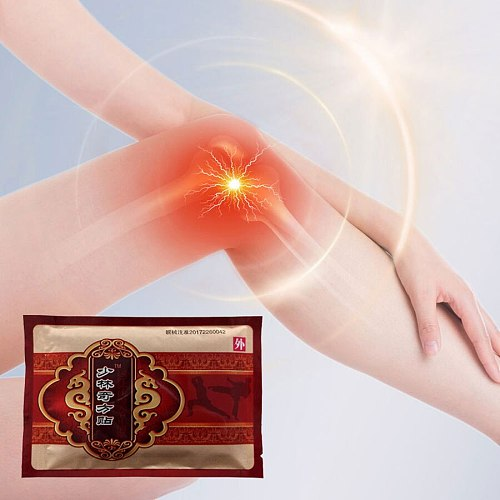 8Pcs Chinese herbal medicine Pain Relief Medical Plasters Neck Knee joint Pain Care Patch Self-heating On sale