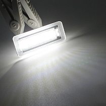 Car LED License Plate Light for Benz Smart for Two Coupe Convertible 450 451