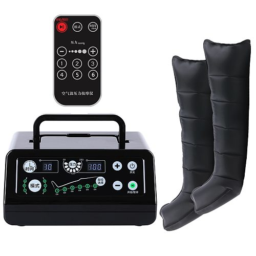 Air Compression Leg Foot Massager for circulation  Pressotherapy Air  Promote Blood Relaxrehabilitation physiotherapy 6 chamber