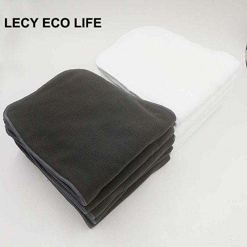 Lecy Eco Life Super absorbent reusable adult cloth diaper insert, 20*49cm washable adult diaper Inconvenience pants liner