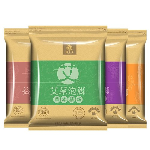 30Pcs Foot Bath Powder Foot Spa Wormwood Ginger Feet Soaking Bathing Herbal Detoxification Anti Edema Dysmenorrhea Insomnia