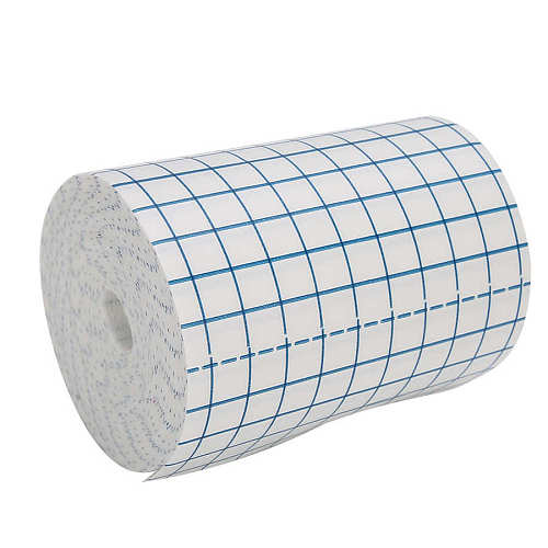 Back Support Hypoallergenic Non  Woven Breathable Tape Portable Wound Dressing Adhesive Tape Bandage Therapy