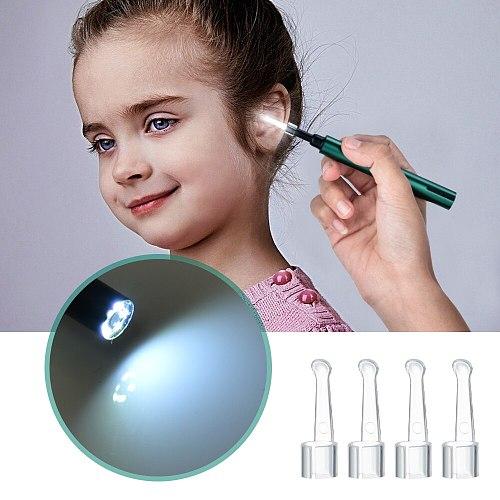 3.0mm Wireless WiFi Ear Pick Camera Otoscope Camera Borescope Luminous Ear Wax Cleaning Teeth Oral Inspection Health Care