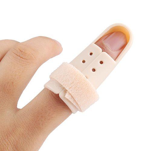 4Pcs/Lot Finger Support Brace Splint Vinger Brace Joint Support Finger Protection Finger Mallet Splint Posture Corrector #54099