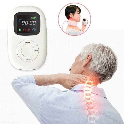 China Manufacturer Offered LED red light therapy machine for pain relief Physical infared phototherapy instrument for neck pain