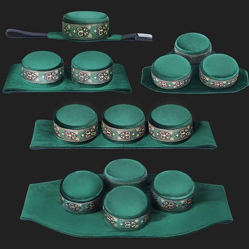 1 Set of Smokeless Moxibustion Box Single Moxa Holder Moxa Massages Box Moxibustion Roll Stick Acupoint Massage