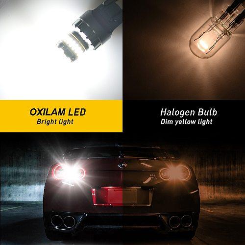 2Pcs T20 LED W21W W21/5W Led Bulb WY21W 7440 7443 Car Signal Lamp Brake Reverse Daytime Running Lights Auto Lamp for Lada 12V