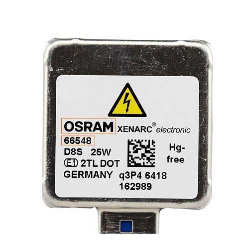 OSRAM D8S Xenon HID Car Headlight Light Standard lamps for cars car bulb Original 4200k 12V 25W 66548 (1 pieces)