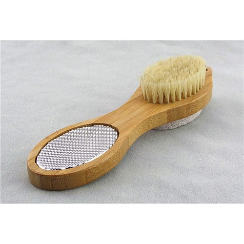4 in 1 Foot Massage Brush Protection Feet Pads Rub Feet Stone Wash Feet Brush Exfoliating Brush Foot Cleaning Tool for Women Men