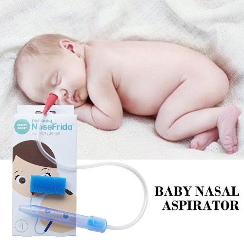 Portable Nose Cleaner Vacuum Suction For Baby Soft Tip Children Infant Safety Care Kids Vacuum Suction Nasal Aspirator