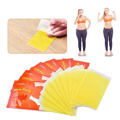 10pcs Extra Strong Slimming Slim Patch Fat Burning Slimming Products Body Belly Waist Losing Weight Cellulite Fat Burner Sticke