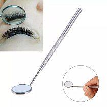 Multifunction Stainless Steel Dental Mirror Mouth Checking Tool Eyelash Extension Applying Eyelash Tools Teeth Clean Oral Supply