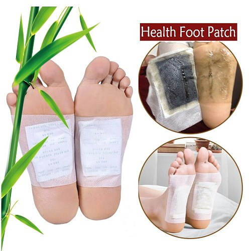 Detox Foot Patches Pads Weight Loss Slimming Cleansing Herbal Body Health Adhesive Pads Remove Toxin Foot Care Anti Cellulite
