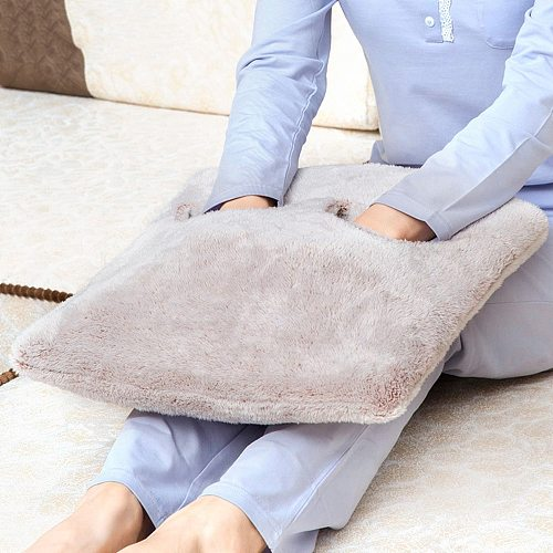 Foot Hand Warmer Electric Heating Pad Slippers Winter Warm Cushion Heat Blanket Shoes Warm Shoes Winter Electric Blanket
