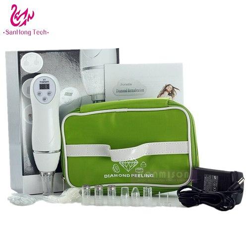 Free shipping facial care machine, handheld dermabrasion machine