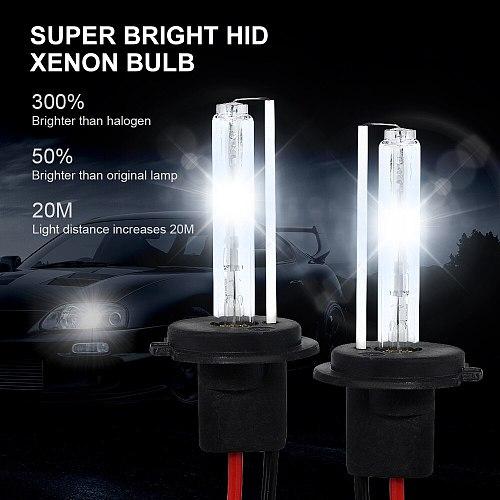 35W 55W Mini HID Ballast Xenon Headlight Kit H1 H3 H7 H11 9005 9006 12V Auto Headlamp Light 3000K 4300K 6000K 8000K 12000K