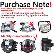 For Renault Duster Fog lights headlights for Renault Fluence Kangoo Megane 2 Koleos 2003-2015 Halogen foglights fog light lamps