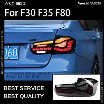 Car Styling for F30 Tail Lights 2013-2019 F35 LED Tail Lamp M4 Design led tail light 320i 325i LED DRL Signal auto Accessories
