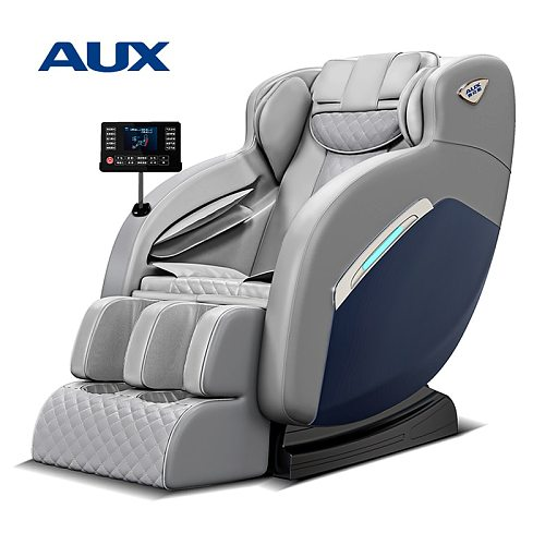 AUX New Arrival Cheap Price Hot Sales Zero Gravity 4D Electric Heated Vibration SL-Track Full Body Massage Chair A8