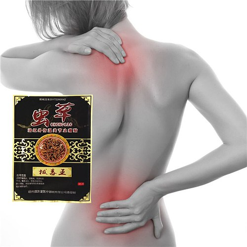 32Pcs Lumbar spine aches rheumatoid arthritis Joint pain Cordyceps Plasters Strong heating effect Relieve pain Patch For pain re
