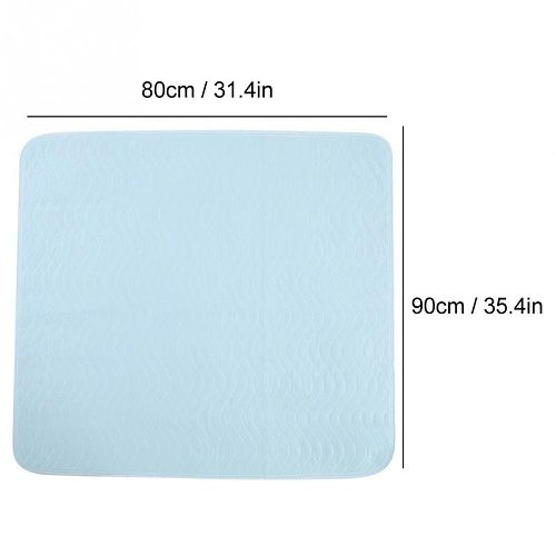 2Pcs Adult Reusable Underpads Washable Waterproof For Kids Adult Care Protector Bed Pad Incontinence Protector Changing Mat Pads