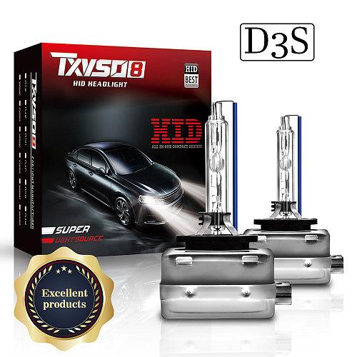 TXVSO8 2020 D3S Car HID Headlights 35W/55W 4300K 5000K 6000K 8000K 10000K 12000K Lights Auto Xenon Bulbs 9000LM bombilla xenon