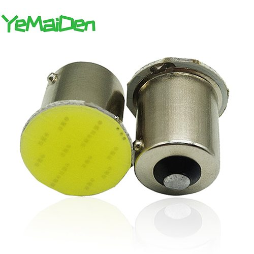 1x  1156 BA15S LED COB 12V 12 SMD 7000K 1157 BAY15D COB LED Bulb Car Turn Signal Light Reverse Brake Parking Lamps White Red