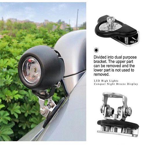 1Pair Car Engine Hood Light Bracket Holder Offroad SUV Engine Cover Led Work Light Bar lights & Lighting Bracket Mounting Clamp