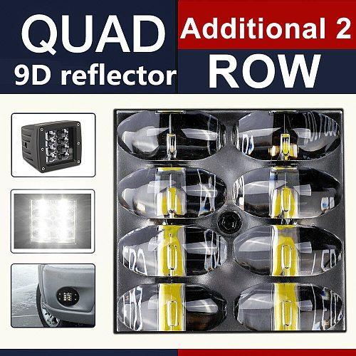 CO LIGHT 9D 80W Car Led Light Bar 3inch Work Light Flood Led Beams DRL 12V 24V for Lada Tractors Boat 4x4 Truck SUV ATV Fog Lamp