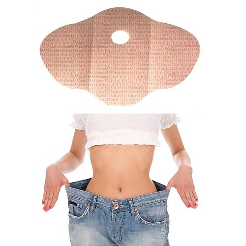 Parches Para Adelgazar Slim Patch 30 Day 10 Pcs Weight Loss Hot Shaper Mujer Belly Abdomen Fat Burning Navel Sticker Emagrecedor