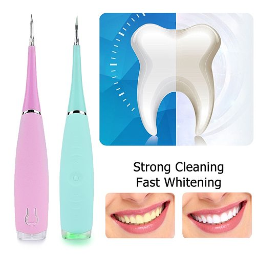 Electric Ultrasonic Sonic Dental Scaler Tooth Calculus Remover Cleaner Tooth Stains Tartar Tool Whiten Teeth Tartar Remove