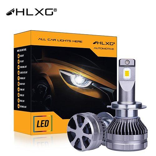 h4 HB3 HB4 led Canbus auto Bulb headlight 25000LM 12V Super Powerful Turbo H8 H9 H11 H16JP 9005 9006 H7 led luces car light HLXG