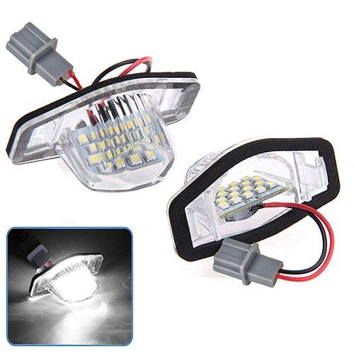 2x Error Free Led License Plate Light Lamp For Honda Crv Fit Jazz Crosstour Odyssey