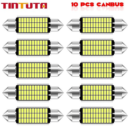 Festoon 31mm 36mm 39mm 41mm High Quality Super Bright LED Bulb C5W C10W Car License Plate Light Auto Interior Reading Dome Lamp
