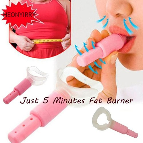 Just 5 Minutes Fat Burner Abdominal Breathing Trainer Slimming Body Waist Increase Lung Capacity Face Lift Tools for Weight Loss