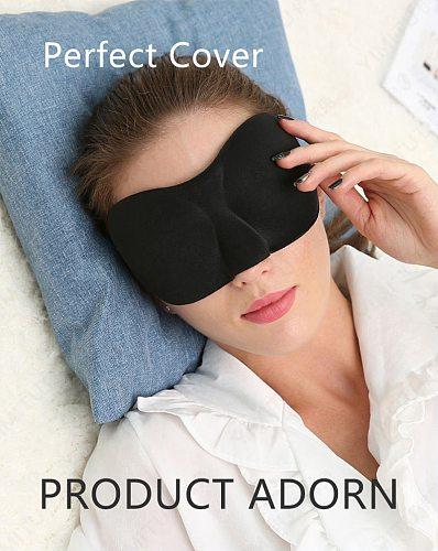 Sleeping Eye Mask for Sleep 3D Eye Cover Shade Soft Travel Rest Eye Patch Band Blindfolds Upgrade Wholesale for Women Man