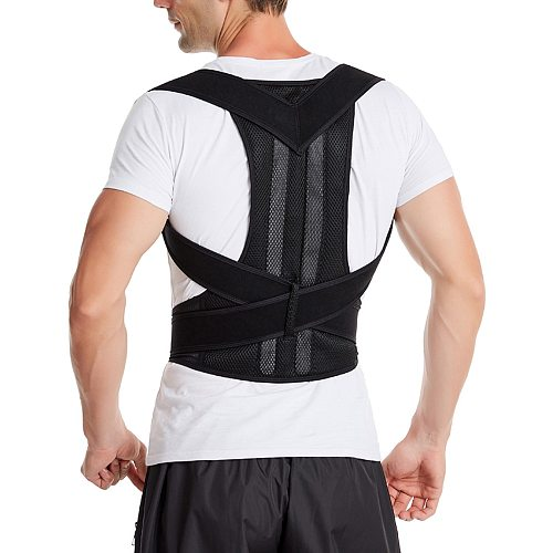 Posture Corrector Back Support Brace Clavicle Correction Corsets Adjustable Belt Stop Slouching and Hunching Dropshipping