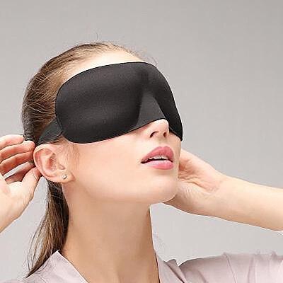 3D Sleep Mask Natural Sleeping Eye Patch Eyeshade Cover Shade Eye Patch Women Men Soft Portable Blindfold Travel Eyepatch