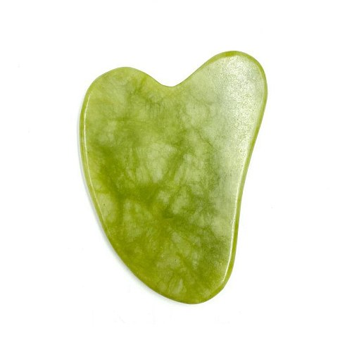 Gua sha Scraper Natural Jade Gua sha Stone Massager for Face Massage Tool Relaxation Slimming Beauty Neck Thin Lift