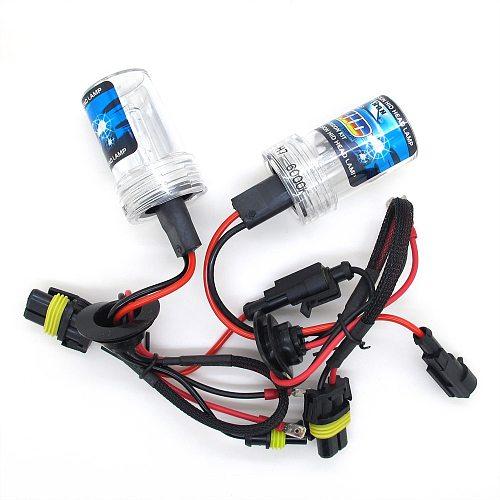 35W 55W HID Xenon Bulb Car Headlight H1 H3 H7 H11 9005 HB3 9006 HB4 Auto Headlamp Kit With Slim Block Ballast 12V DC