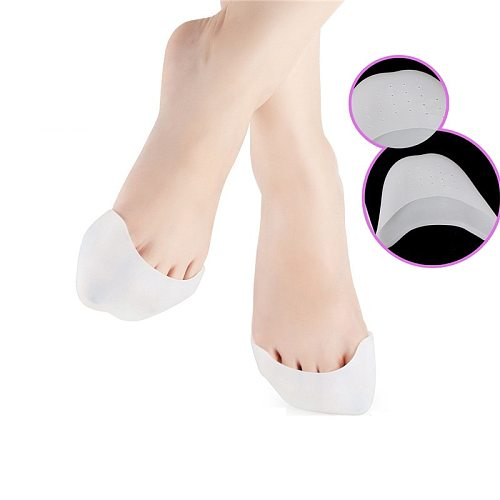 2PCS Free Shipping Silicone Gel Toe Soft Ballet Pointe Dance Shoes Pads Foot Care Protector Foot Care Tools SEBS-009
