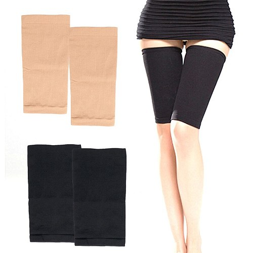 1Pair Slimming Compression Leg Shaper Slimming Arm Belt Helps Tone Shape Upper Arms Sleeve Shape Taping Massage For Women