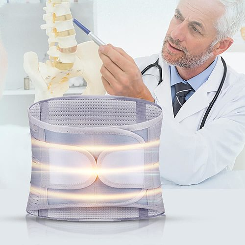 Lumbar Support Belt Disc Herniation Orthopedic Medical Strain Pain Back Support Belt For Back Spine Decompression Brace