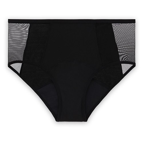 Women's Full Protection 4 Layers Period Panties Menstrual Panties Washable Leak Proof Period Panties Functional Underwear S-4XL